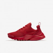 Nike Presto Fly Lifestyle Shoes For Boys University Red 913966-600