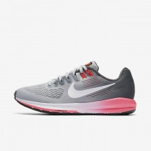Nike Air Zoom Running Shoes For Women Dark Grey/Wolf Grey/Hot Punch/White 904701-002