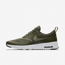 Nike Air Max Thea Lifestyle Shoes Womens Cargo Khaki/Black/Dark Stucco 599409-310