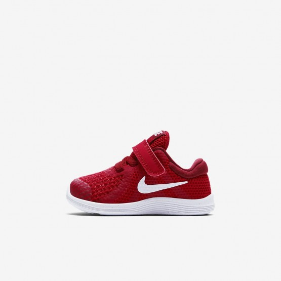 Chaussure Running Nike Revolution 4 Fille Rouge/Rouge/Noir/Blanche 943304-601