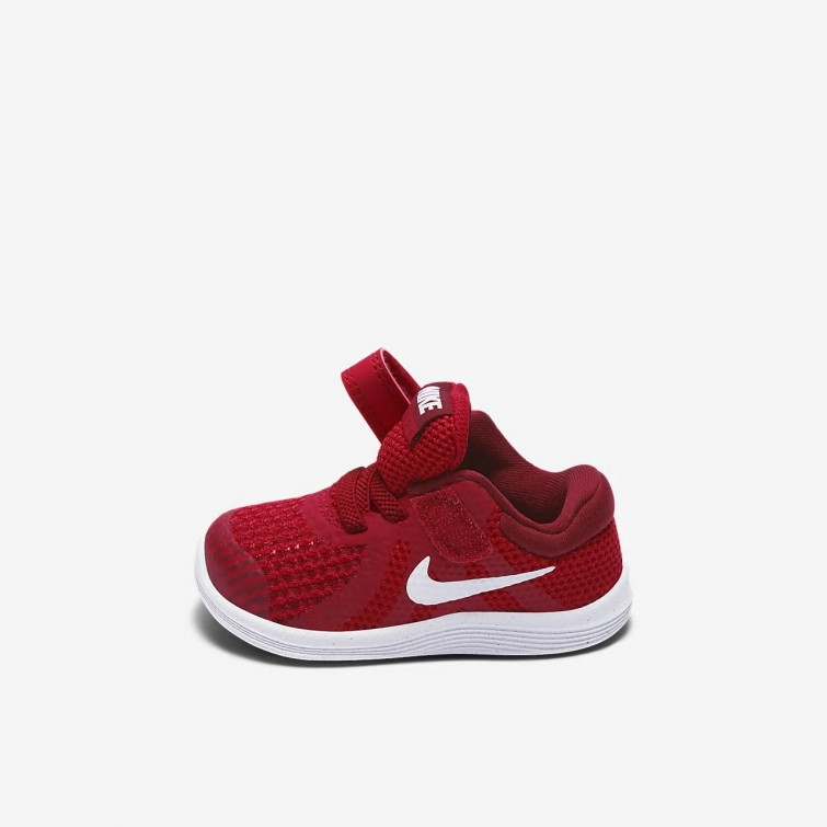 484df0908ff2c ... Nike Revolution 4 Running Shoes Girls Gym Red Team Red Black White  943304 ...