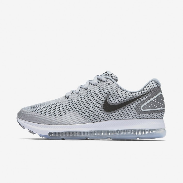 6d7e9b961e2 Chaussure Running Nike Zoom All Out Low 2 Femme Grise Grise Blanche Noir