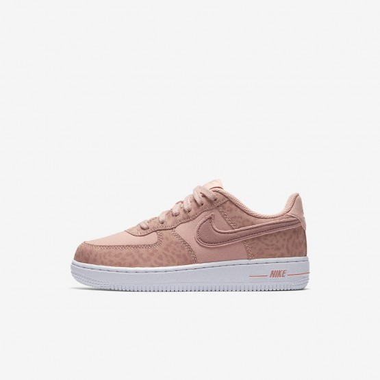 Chaussure Casual Nike Air Force 1 LV8 Fille Corail/Blanche/Rose AH7529-600