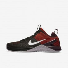 Nike Metcon DSX Flyknit 2 Training Shoes Mens Black/Chile Red/Vast Grey 924423-002