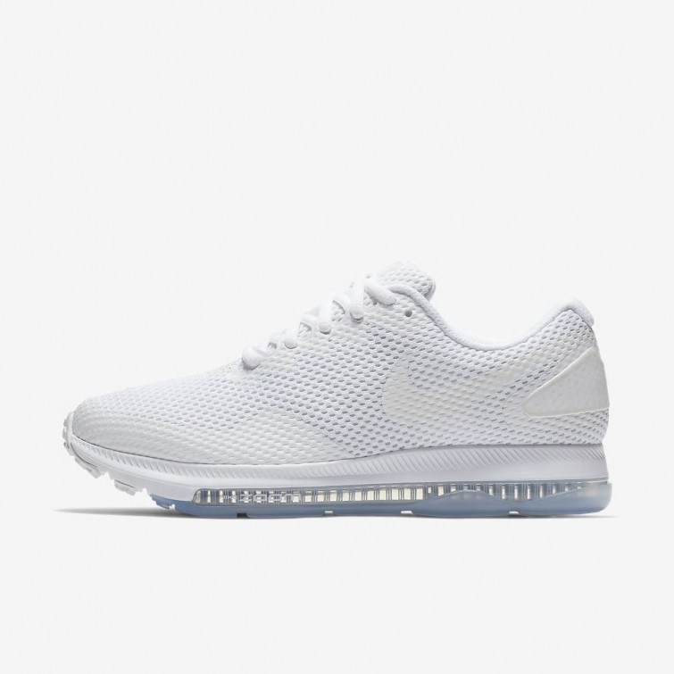 e90be8c158e2e Nike Zoom All Out Low 2 Running Shoes Womens White Off White AJ0036-100