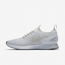 Nike Air Zoom Mariah Flyknit Racer Lifestyle Shoes Mens Pure Platinum/Light Bone/White/Dark Grey 918264-011