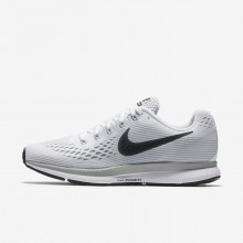 Nike Air Zoom Pegasus 34 Running Shoes Womens White/Pure Platinum/Wolf Grey/Anthracite 880560-103