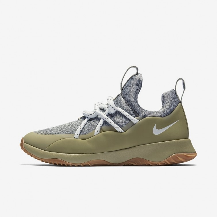 best service 6263f e6ca8 Chaussure Casual Nike City Loop Femme Vert Olive Vert Olive Marron Blanche  AA1097