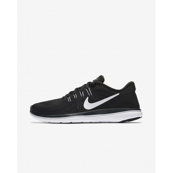 Nike Flex 2017 RN Running Shoes For Women Black/Anthracite/Wolf Grey/White 898476-001