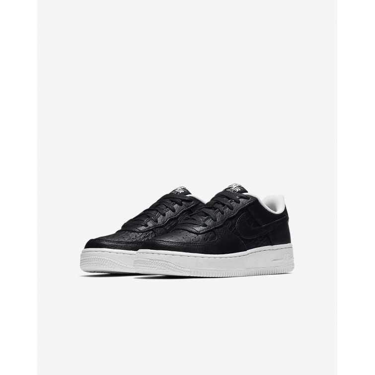info for a54f3 a9287 ... Nike Air Force 1 LV8 Lifestyle Shoes Boys Black Summit White 820438-012