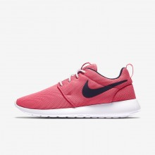 Chaussure Casual Nike Roshe One Femme Corail/Blanche/Obsidienne 844994-801