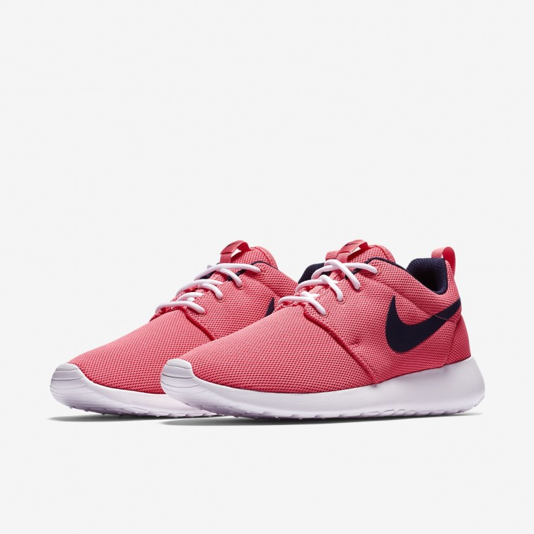 best sneakers 90eaf 01e56 ... Nike Roshe One Lifestyle Shoes For Women Sea Coral White Obsidian  844994-801