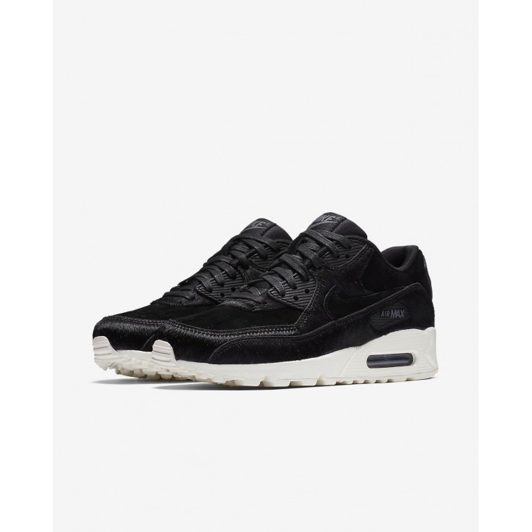 Outlet De Zapatillas Casual Nike Air Max 90 LX Mujer Negras