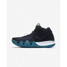Nike Kyrie 4 Basketball Shoes For Men Dark Obsidian/Black 943806-401