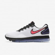 Nike Zoom All Out Running Shoes For Women White/Black/Solar Red AJ0036-101