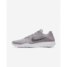 Nike Free TR Flyknit 2 Training Shoes Womens Atmosphere Grey/White/Gunsmoke 904658-016