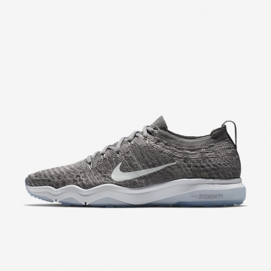 Nike Air Zoom Fearless Flyknit Lux Training Shoes Womens Gunsmoke/Atmosphere Grey/White 922872-005