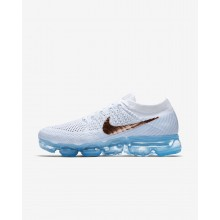 Nike Air VaporMax Running Shoes For Women Summit White/Hydrogen Blue/Pure Platinum/Metallic Red Bronze 849557-104