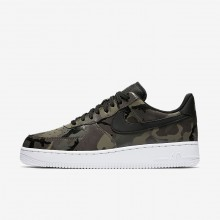 Nike Air Force 1 Lifestyle Shoes For Men Medium Olive/Baroque Brown/Sequoia/Black 823511-201