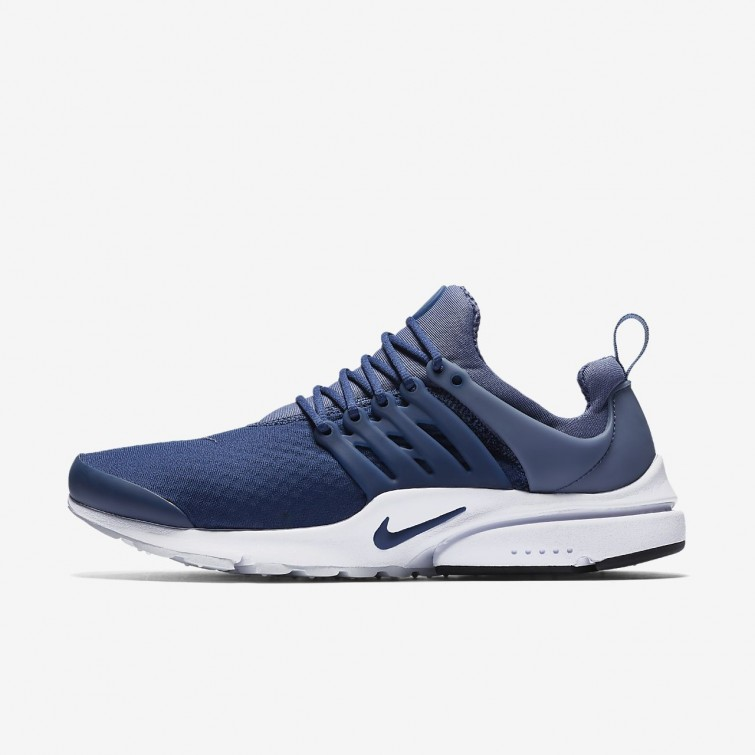 6a4744a20b6 Nike Air Presto Lifestyle Shoes For Men Navy Diffused Blue Black 848187-406