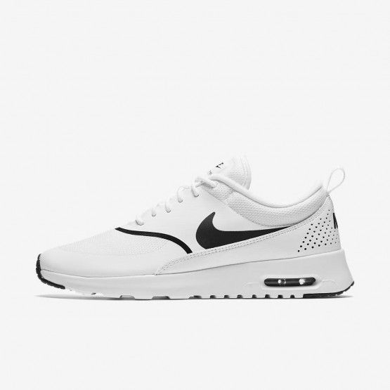 Nike Air Max Thea Lifestyle Shoes For Women White/Black 599409-108