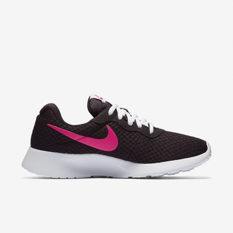 815b3c72169 ... Nike Tanjun Lifestyle Shoes Womens Port Wine White Deadly Pink 812655-603  ...