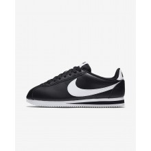 Nike Classic Cortez Lifestyle Shoes For Women Black/White 807471-010