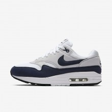 Nike Air Max 1 Lifestyle Shoes Womens White/Pure Platinum/Black/Obsidian 319986-104