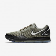 Nike Zoom All Out Running Shoes For Men Cargo Khaki/Black/Light Bone AJ0035-300
