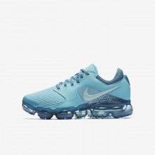 Nike Air VaporMax Running Shoes Boys Bleached Aqua/Noise Aqua/Glacier Blue 917962-402