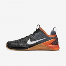 Nike Metcon DSX Flyknit 2 Training Shoes Mens Black/Hyper Crimson/Light Carbon/White 924423-005