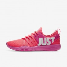 Nike Free Trainer Training Shoes For Women Hot Punch/Pink Blast/White 924592-601