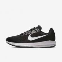 Nike Air Zoom Running Shoes For Women Black/Wolf Grey/Cool Grey/White 904701-001