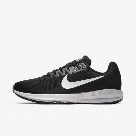 Nike Air Zoom Structure 21 Running Shoes Womens Black/Wolf Grey/Cool Grey/White 904701-001