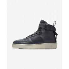 Chaussure Casual Nike SF Air Force 1 Mid Homme Grise Foncé/Clair 917753-004