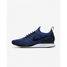 Nike Air Zoom Mariah Flyknit Racer Lifestyle Shoes Mens Black/White/Racer Blue 918264-007