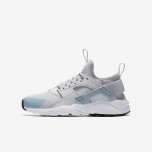 Nike Air Huarache Lifestyle Shoes For Boys Pure Platinum/White/Ocean Bliss 847568-011