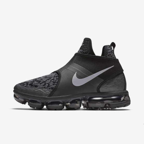 Nike Air VaporMax Chukka Slip Lifestyle Shoes Mens Black/Anthracite/Team Orange/Reflect Silver AO9326-002