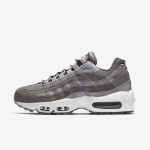 Nike Air Max 95 Lifestyle Shoes For Women Gunsmoke/Atmosphere Grey/Summit White AA1103-003