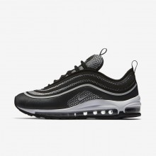 Nike Air Max 97 Ultra 17 Lifestyle Shoes Womens Black/Anthracite/White/Pure Platinum 917704-003