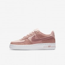Chaussure Casual Nike Air Force 1 LV8 Fille Corail/Blanche/Rose 849345-600