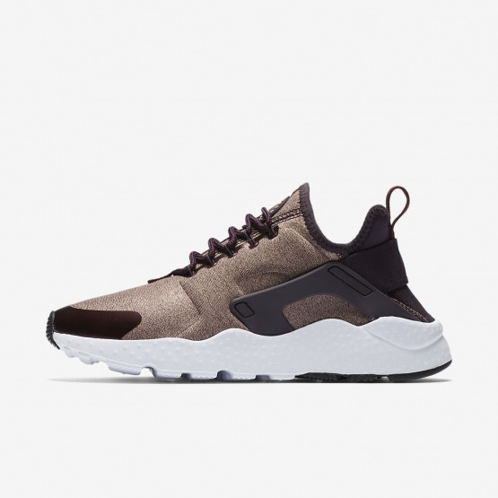 Chaussure Casual Nike Air Huarache Ultra SE Femme Metal/Rose 859516-602
