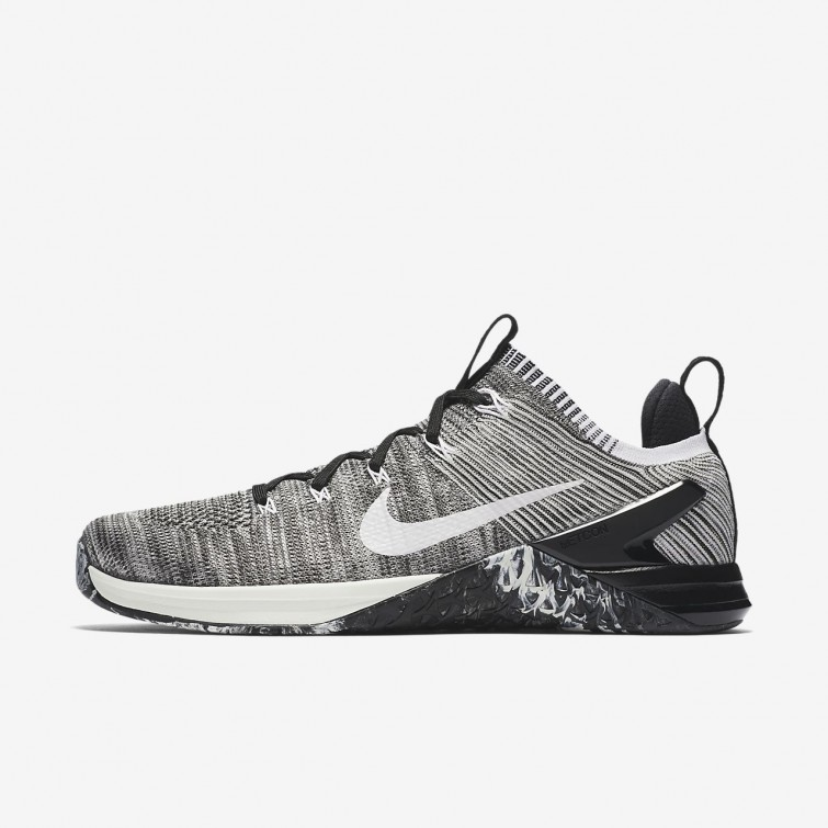 86ae3a86cfc24 Nike Metcon DSX Flyknit 2 Training Shoes Mens Matte Silver Light  Silver Sail 924423