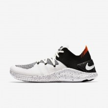 Nike Free TR Flyknit 3 Training Shoes Womens White/Black 942887-100