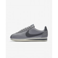Nike Classic Cortez Lifestyle Shoes Womens Atmosphere Grey/Sail/Gunsmoke 807471-017