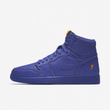 Nike Air Jordan 1 Lifestyle Shoes For Men Rush Violet AJ5997-555