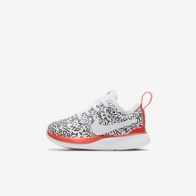 Nike Dualtone Racer QS Lifestyle Shoes Boys White/Black/Bright Crimson AQ0911-100
