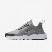 Nike Air Huarache Lifestyle Shoes For Women Dust/Metallic Pewter/Black 859516-009