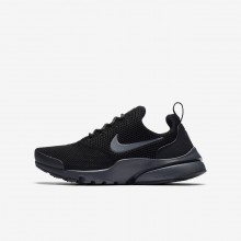 Nike Presto Fly Lifestyle Shoes For Boys Black/Anthracite 913966-005