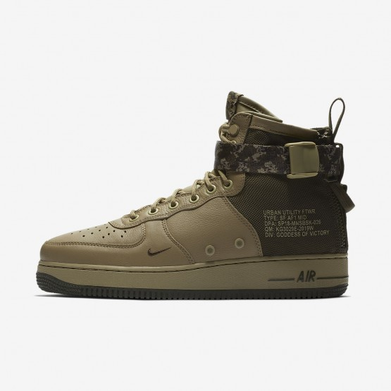 Nike SF Air Force 1 Lifestyle Shoes For Men Neutral Olive/Cargo Khaki 917753-201
